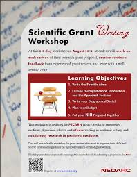 How To Write Flyers Workshop Flyer I Created For The 2012 Scientific Grant Writing