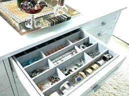 jewelry organizer drawer jewelry organizer for drawer jewelry closet organizer dresser drawer organizer photo 5 of