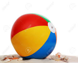 beach ball in sand. Exellent Beach Inflatable Colorful Beach Ball And Seashell On Sand Stock Photo  8148734 Intended Beach Ball In Sand C