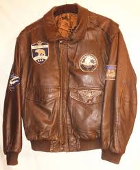top style us air forces pilot leather flying jacket