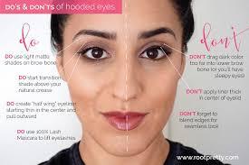 hooded eyes makeup photo 1