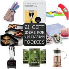 21 gift ideas for vegetarian vegan foos