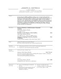 Good Resume Template Inspiration Good Resume Templates Migrante