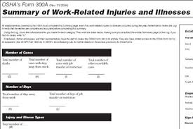 On The Job Training Form Unique Brief Tutorial On Completing The OSHA Recordkeeping Forms Text