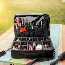 dels about new best professional makeup case travel makeup bag makeup artist cosmetic train