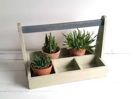 gardening planter crate wooden carpenter tool box 1