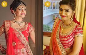 beautiful indian bridal makeup looks gujarati bridal looks 5 6