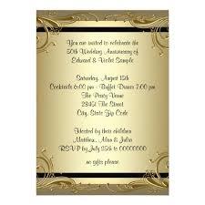 50th wedding anniversary invitations, 3000 50th wedding Blank Golden Wedding Invitations elegant gold 50th wedding anniversary party card blank 50th wedding anniversary invitations
