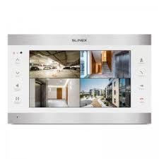 <b>Slinex SL</b>-<b>10IPT</b> Silver+White: монитор <b>видеодомофона</b> с экраном ...