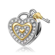 Amazon.com: NinaQueen 925 Sterling Silver <b>Fit Pandora Charms</b> ...