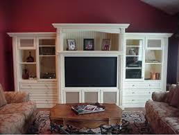 custom wall units traditional