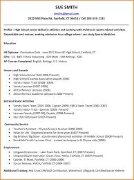8 High School Resume Example Pear Tree Digital