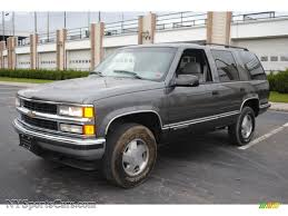 1999 Chevrolet Tahoe LS 4x4 in Medium Charcoal Gray Metallic photo ...