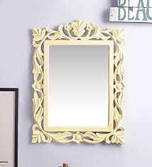 mirror frame. Artesia MDF Square Shape Wall Decorative Mirror Frame Yellow