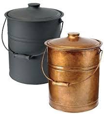 fireplace ash bucket ash bucket for fireplace double bottom galvanized steel ash bucket with handle in fireplace ash bucket