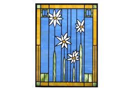 custom stained glass window design