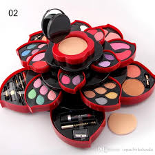 dhl miss rose make up kit the ultimate colour collection makeup box collection party wear makeup palette for dresser makeup eye makeup for blue