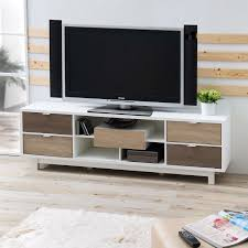 white 70 inch tv stand. Brilliant White Modern 70inch White TV Stand Entertainment Center With Natural Wood Accents In 70 Inch Tv I
