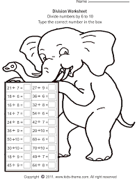 Free Printable Math Worksheets Division Worksheets for all ...