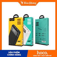 Pin sạc dự phòng 30000 mAh HOCO B35E Dung lượng cao Dành cho iPhone 7 8  Plus X Xs 11 12 Pro Max iPad Mini Samsung Oppo giá cạnh tranh