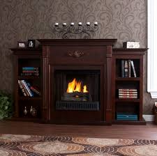 gallery of gel fuel fireplace tv stand