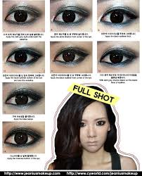 rock chic eyes makeup