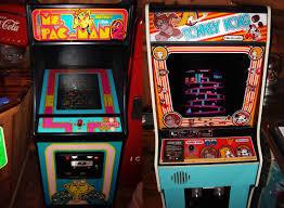 Ms Pacman Cabinet Filems Pac Man Donkey Kong Arcade Cabinetsjpg Wikimedia