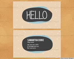 Cute Business Card Ideas 10 Printable Business Cards From Etsy That Are Anything But Boring