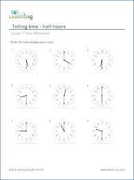 Download Printable Time Worksheet For Kids Worksheets Free Telling ...
