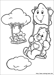 Small Picture Carebear Coloring Pages Care Bears Sunshine Bear Coloring