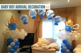 Welcome Home Baby Boy Banner Homemade Baby Shower Decorations Ideas Easy At Home Welcome