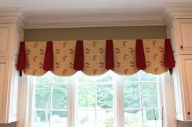 country kitchen curtain valances