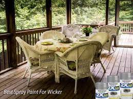 the 8 best spray paint for wicker