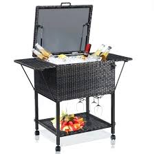 outdoor cooler cart patio