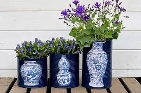 unique oriental vase diy flower pots