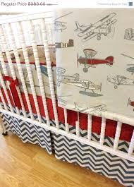 boy baby bedding airplane made to order 4 vintage crib set sets