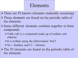 Chemistry Notes. - ppt download