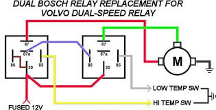 wiring diagram for fan relay switch the wiring diagram volvo electric cooling fan wiring diagram
