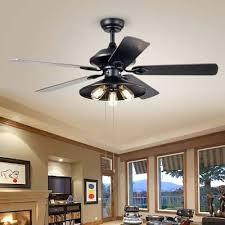 3 light 5 blade ceiling fan way forge