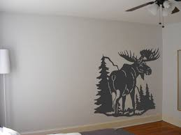 moose wall art stickers decal painting stencil for walls model full size on wall art stencils free with 94 wall painting stencils free wall paint stencils painting home