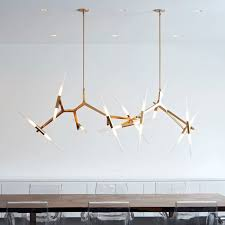agnes chandelier double installation of roll hill agnes chandeliers