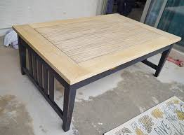 refinishing wood furniture with stain