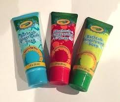 crayola bathtub fingerpaint soap bathtub soap new set of 3 super sized crayola bathtub crayola bathtub