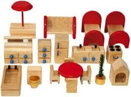 cheap wooden dollhouse furniture. TAG Toys P6A 18-Piece Wooden Dollhouse Furniture Set Cheap