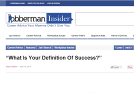 Career Success Definition What Is Your Definition Of Career Success Via