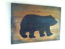 black bear wall decor best black bear decor ideas on bear decor s black bear decor black bear wall decor