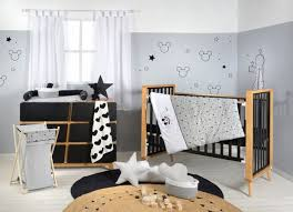 disney grey mickey mouse baby bedding