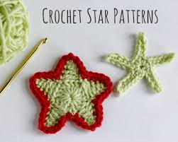 Crochet Star Pattern Beauteous CrochetADay Crochet Star Patterns Make And Takes