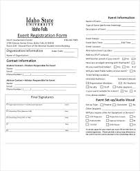 Student Registration Form Template Free Download Free Registration Form Template Jasi Info