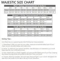 Majestic Jacket Size Chart Majestic Athletic Size Guide